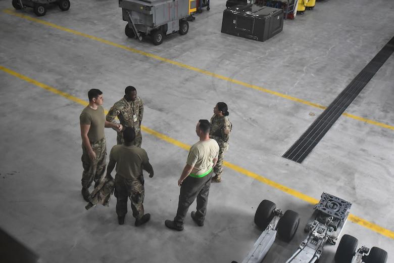 AGE Airmen discuss ops