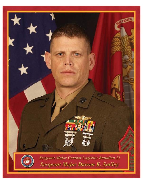 Sergeant Major, Combat Logistics Battalion 23