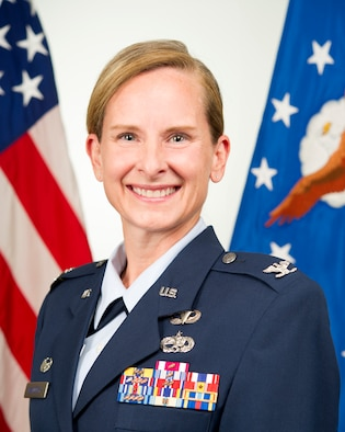 Colonel Arianne M. Mayberry is the commander of the 434th Maintenance Group, Grissom Air Reserve Base, Indiana.  She is responsible for providing leadership and direction to a group comprised of two squadrons and staff that employs 595 assigned traditional Reservists, air reserve technicians, and civilian Airmen across multiple specialties. (U.S Air Force photo/Master Sgt. Ben Mota)