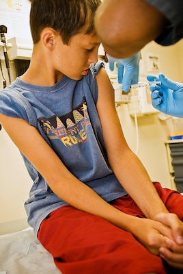 The San Antonio Military Health System stands ready to help parents meet their children's immunization and vaccination requirements, as well as back-to-school and sports physicals.