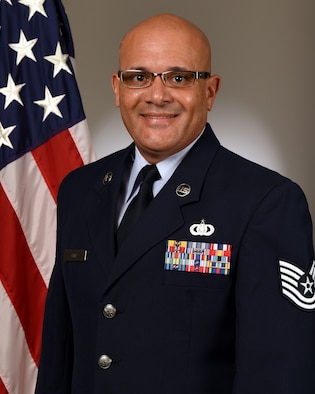 Technical Sergeant Wilfredo Cruz Official Photo