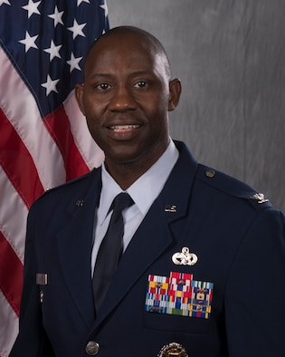 photo of Col. Jamaal E. Mays, 366th FW DCOM-S