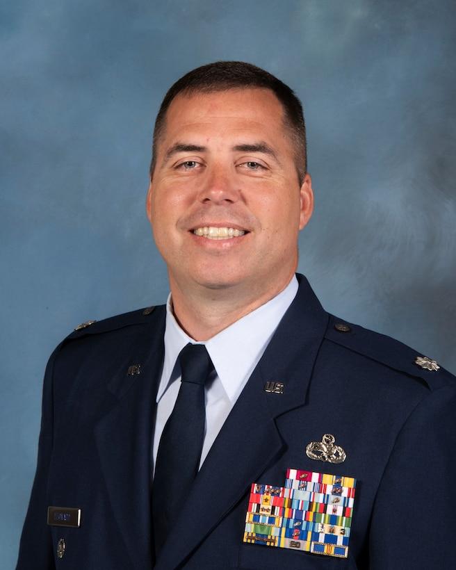 A photo of U.S. Air Force Lt. Col. Joseph W. Leonard