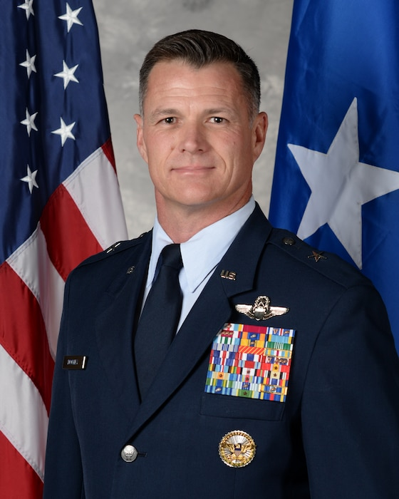 This is the official portrait of Brig. Gen. Michael R. Drowley.