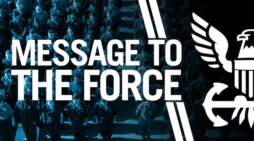 Message to the Force Graphic