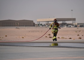 378 ECES fire department improve skills through training