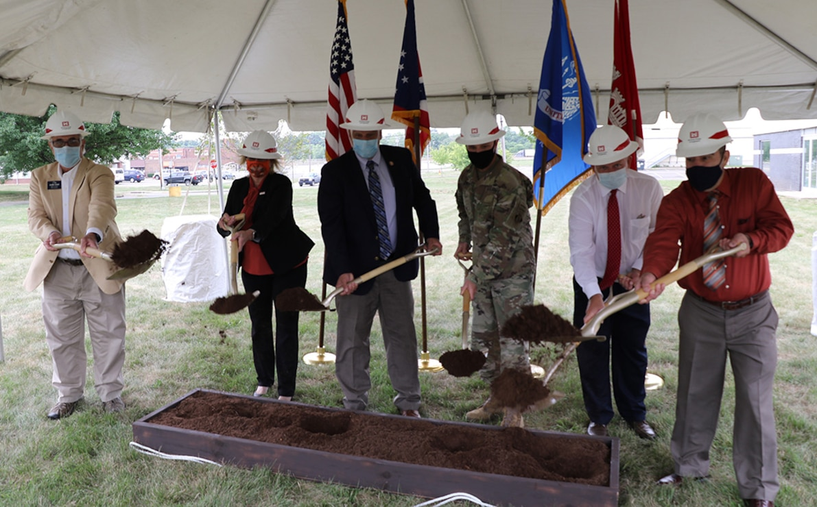Massillon Levee Groundbreaking
