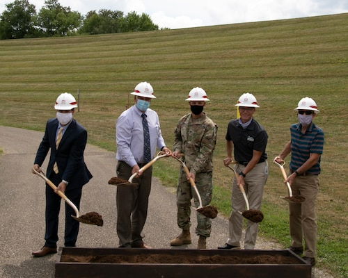 Combined Mohawk Dam and Zoar Levee Groundbreaking