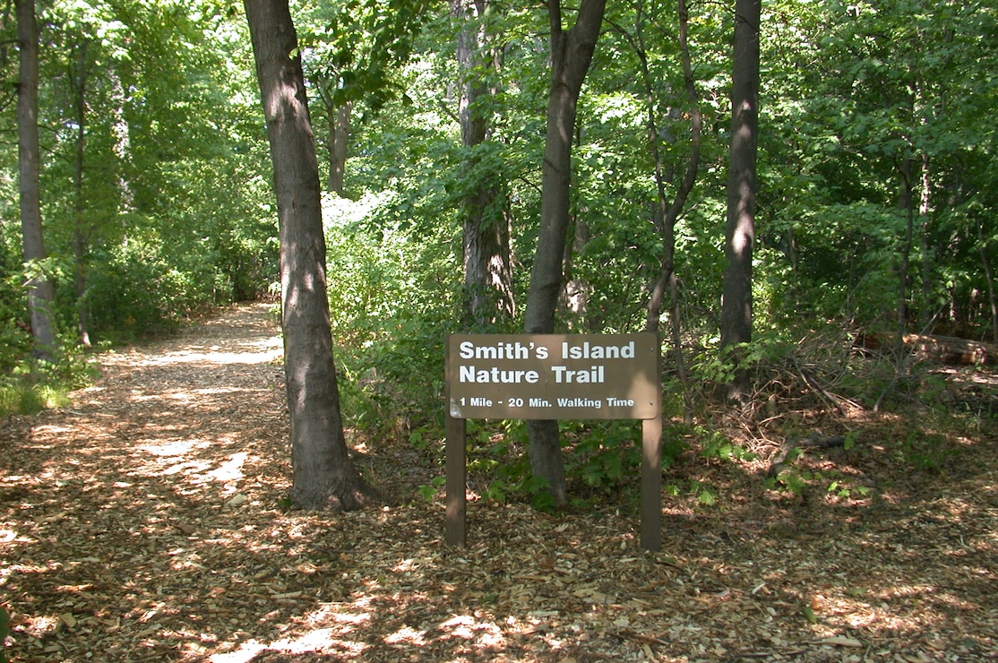 Smith's Island Nature Trail located at Locks and Dam 14 in Pleasant Valley, Iowa.