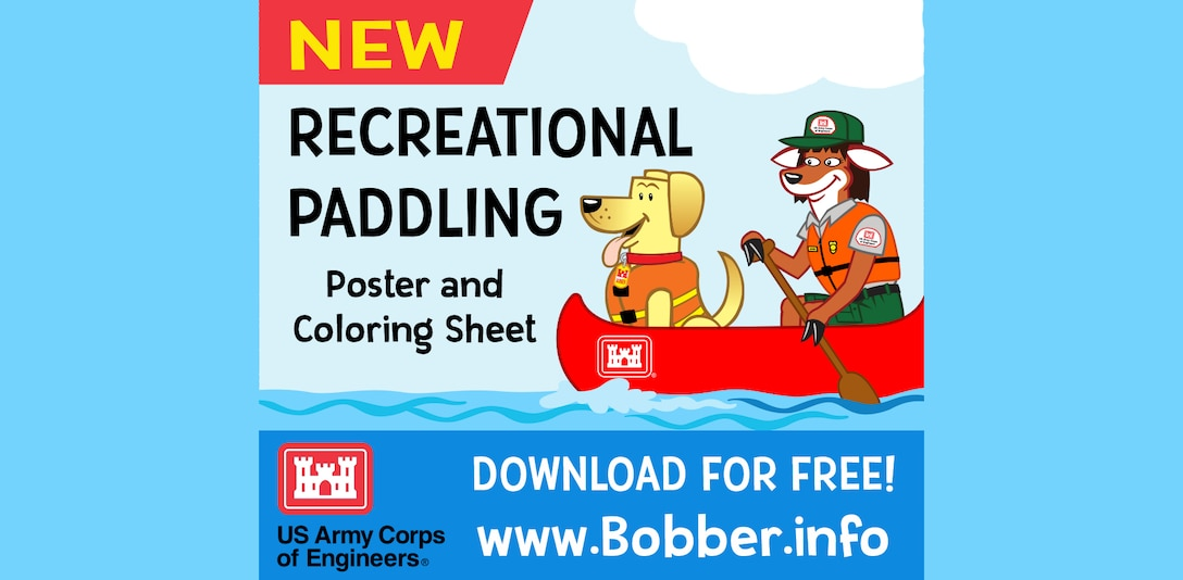 Download your Free Bobber Recreational Paddling poster and coloring book today at www.bobber.info