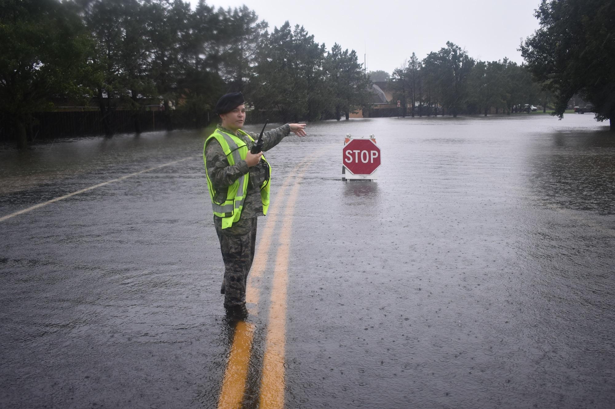 Scott AFB; 2020 flood