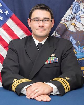 Lieutenant Commander S. John Krewer, USN  Executive Officer, AEGIS Technical Representative