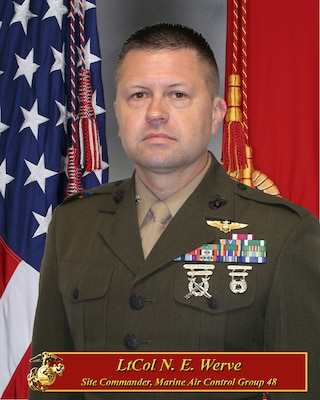 Site Commander, Marine Air Control Group 48