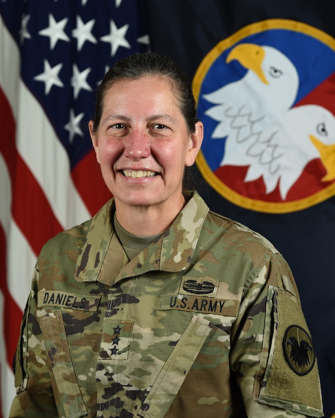 Lt. Gen. Jody J. Daniels