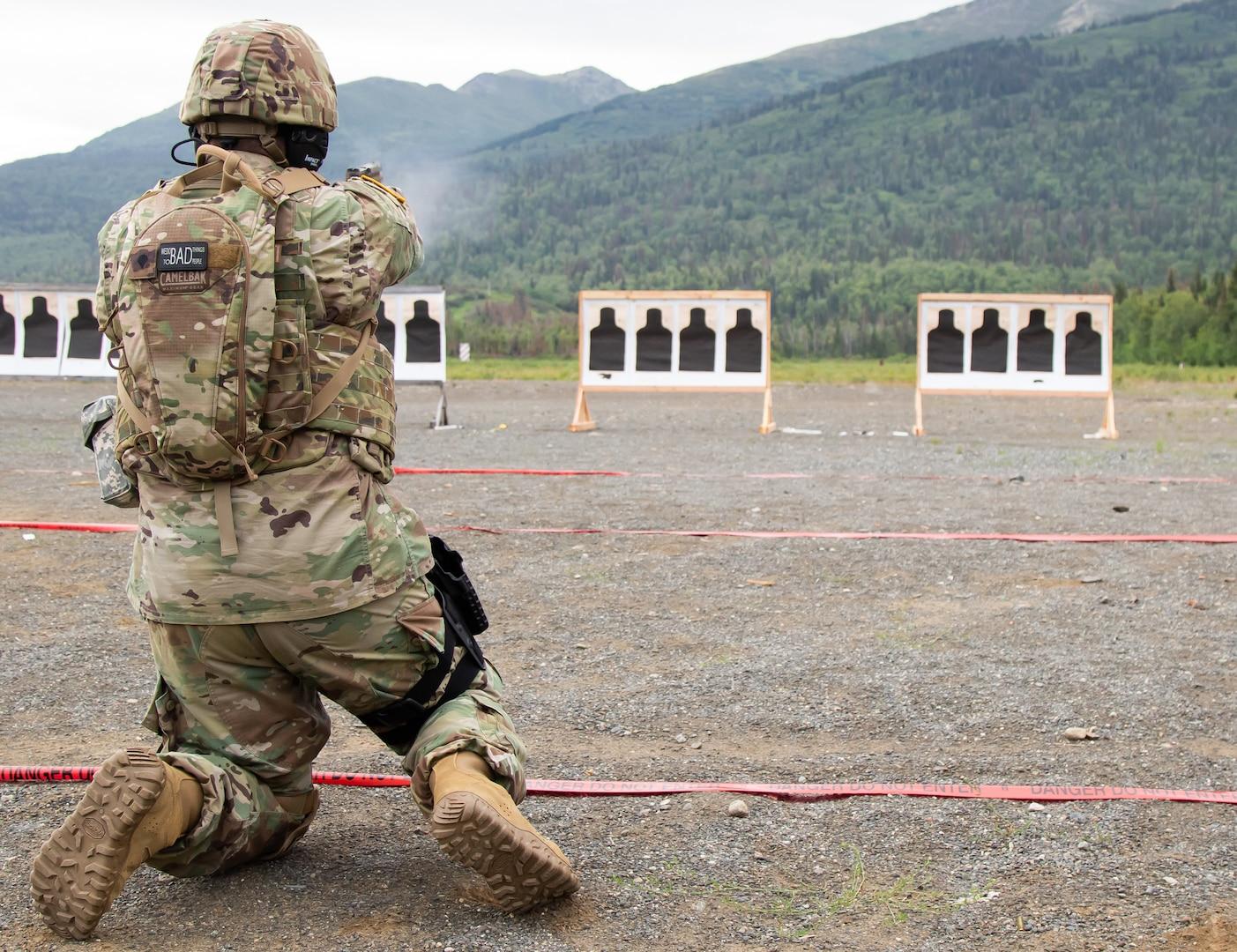 Alaska Army Guard MP keeps marksmanship skills sharp during TAG Match