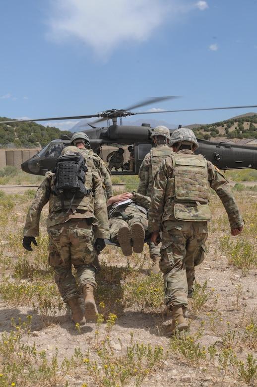 The  204th Maneuver Enhancement Brigade during annual training at Camp Williams Aug. 2-15, 2020.