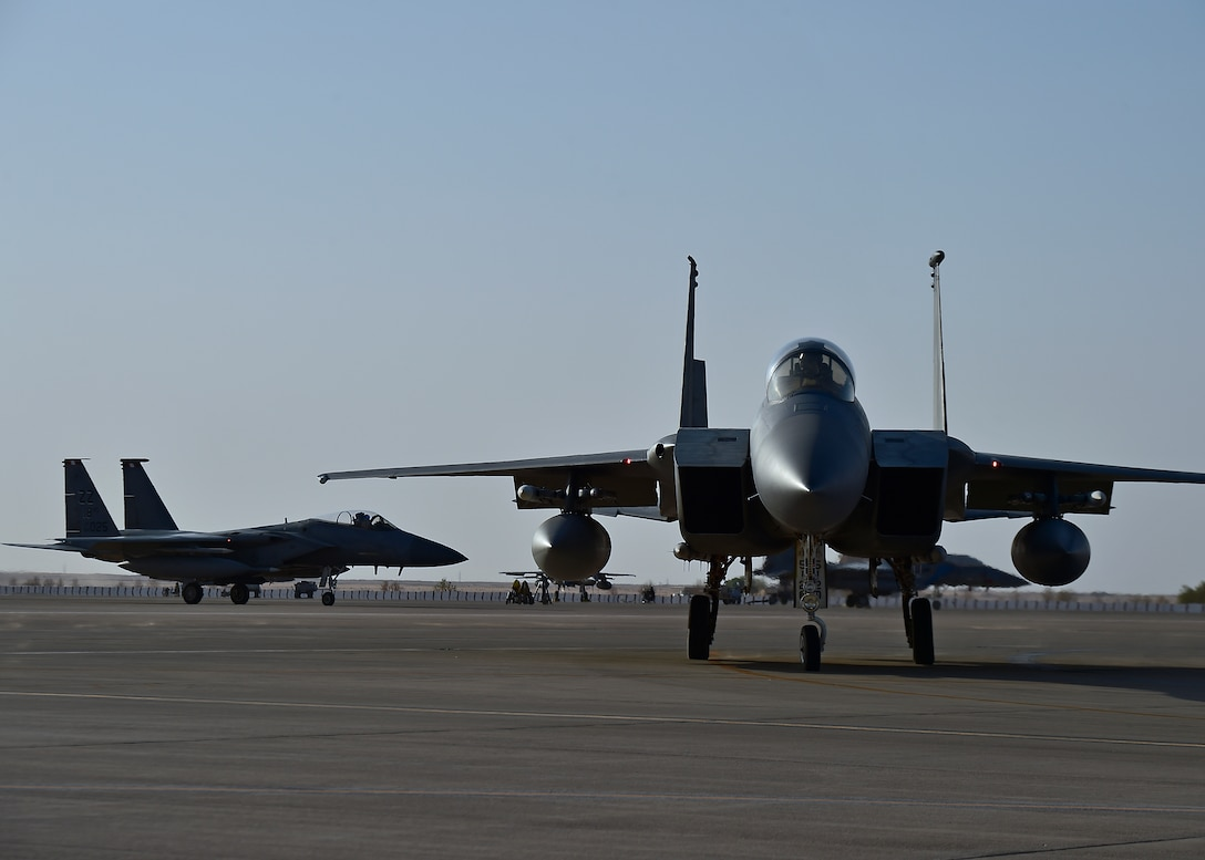 44 EFS secures the skies with flying sorties