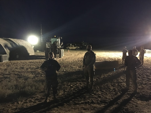 The 726th Air Control Squadron at Mt. Home Air Force Base, Idaho, had to generate and deploy a Control and Reporting Center and conduct combat operations in a contested environment, in conjunction with the 552nd Air Control Wing at Tinker AFB, Oklahoma, during EXERCISE Agile Thunder.