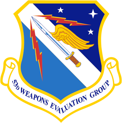 Patch for 53rd Weapons Evaluation group