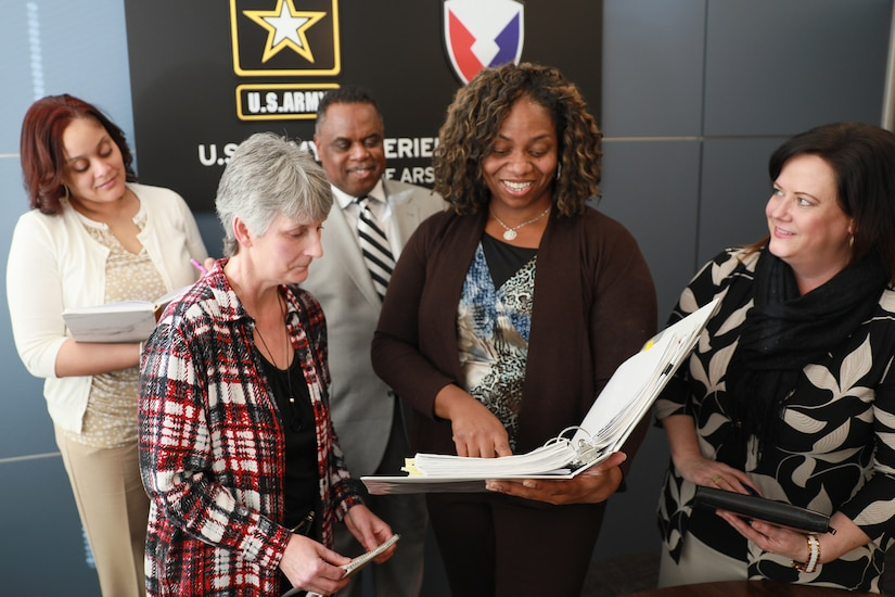 Whether Soldier or civilian, the Army Materiel Command's new commanding officer, Gen. Ed Daly, is working with his command team to ensure diversity and inclusion throughout the organization's enterprise. AMC is following the guidance set out in the Army's Project Inclusion. (U.S. Army Photo by Kari Hawkins)