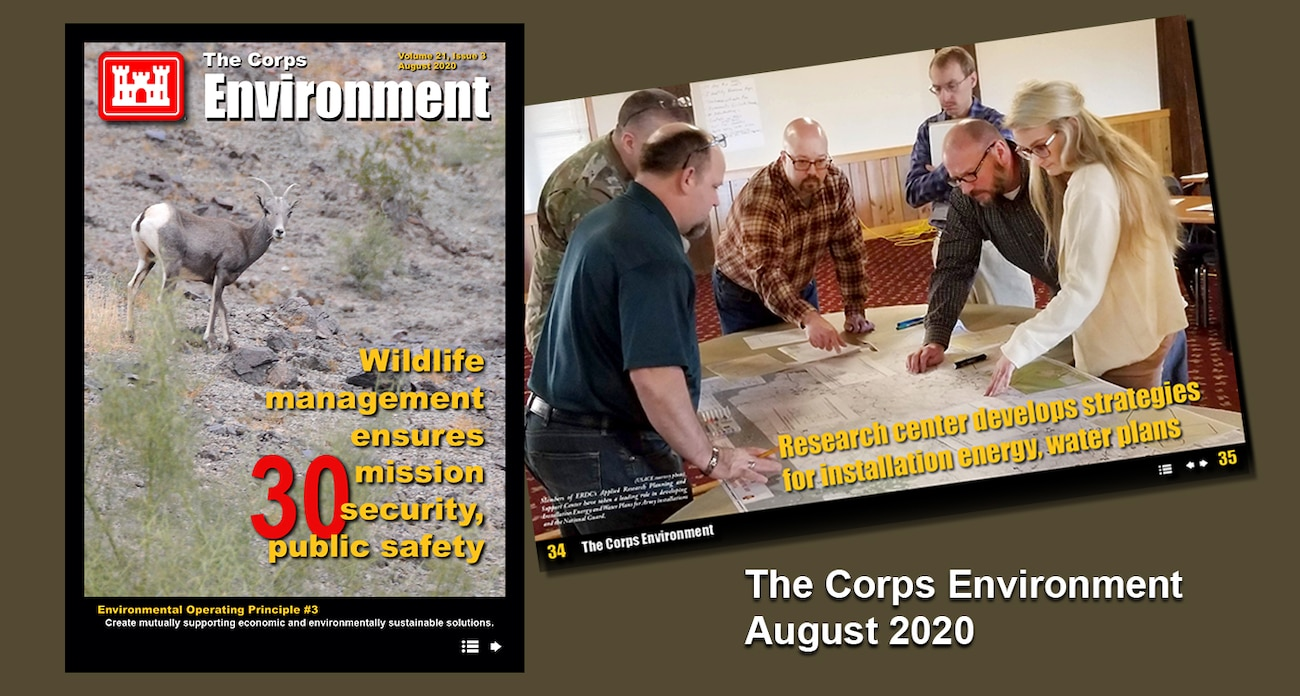 This edition highlights supporting economic and environmentally sustainable solutions, in support of Environmental Operating Principle #3. Content features efforts from across the enterprise that are providing environmental and economic benefits across the nation.