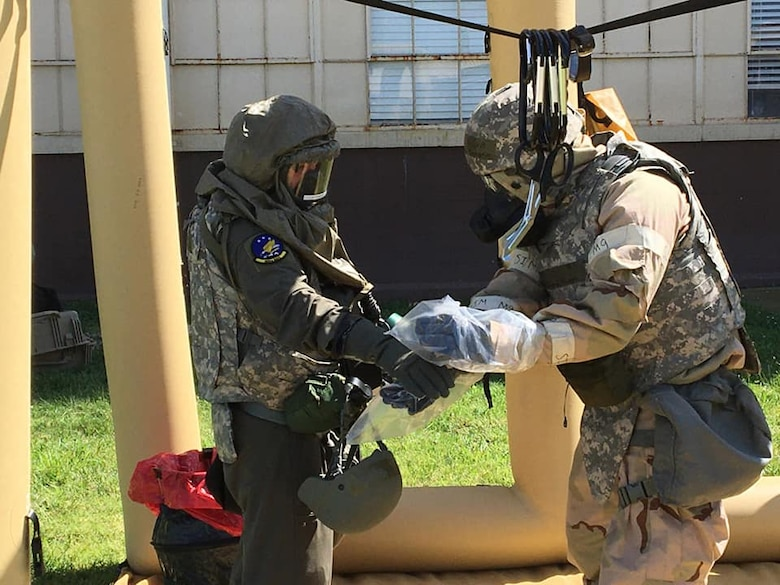 More than 500 personnel of the 552nd Air Control Wing, 72nd Air Base Wing and 366th Fighter Wing at Mt. Home Air Force Base, Idaho, participated in EXERCISE Agile Thunder in August. The exercises tested personnel's ability to prepare and rapidly deploy combat forces, generate and deliver Airborne Warning and Control System aircraft, generate and deploy a Control and Reporting Center and conduct combat operations in a contested environment (Courtesy photo).