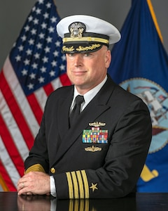 Capt. Kenneth L. Holland, executive officer, Trident Refit Facility Bangor