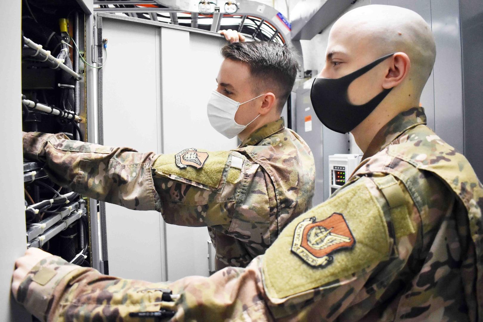 Air Force unit keeps communications running 24/7 at Camp Zama