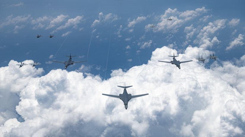 US Demonstrates Air-Power • Indo-Pacific Region • August 17 2020