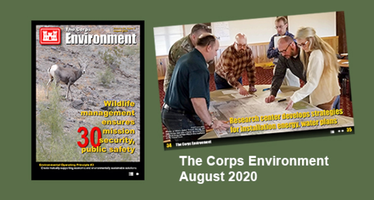 This edition highlights supporting economic and environmentally sustainable solutions, in support of Environmental Operating Principle #3. This edition highlights efforts from across the enterprise that are providing environmental and economic benefits across the nation.