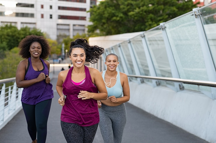 Safety tips when you jog or run.