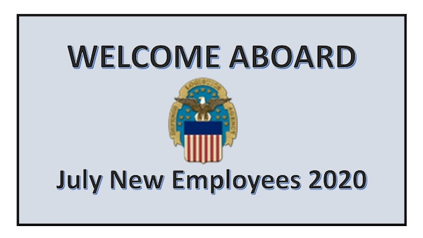 Power Point Chart welcoming July New Employees