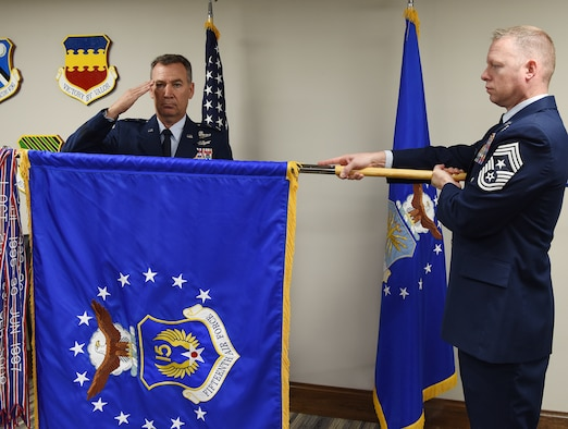 Major General Chad Franks assumes command of the 15th Air Force