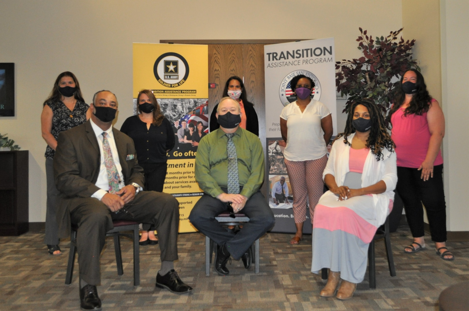 In an effort to provide all transitioning service members at Joint Base San Antonio with the services they are entitled, ensuring a smooth readjustment to civilian life, JBSA's new Joint Transition Readiness Center staff members stand ready to provide information and resources virtually to all who need them.