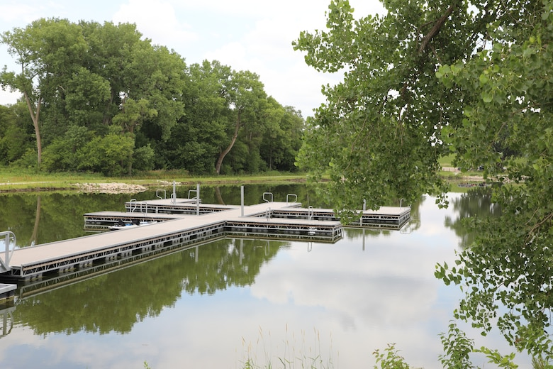 The Corps in partnership with the Nebraska Game and Parks Association opens a fully ADA compliant boat ramps at Conestoga State Recreation outside of Lincoln, Neb., July 15.