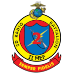 The official command seal for 2nd Radio Battalion.