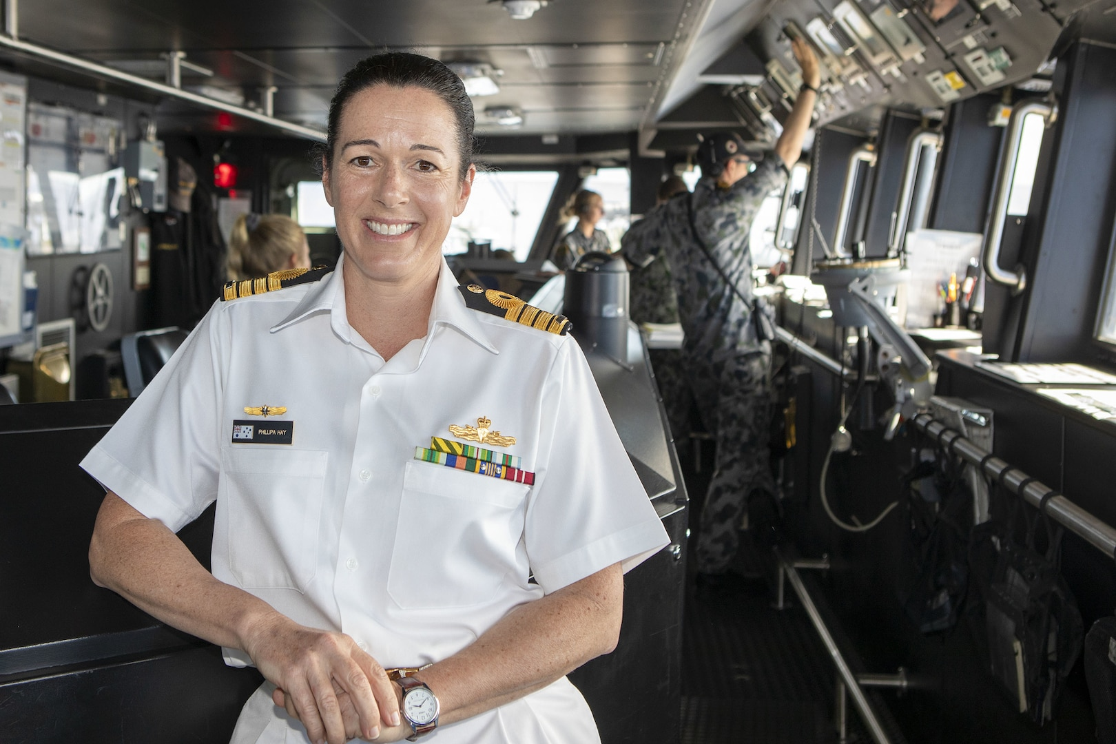 Female Commander of Australian Maritime Task Force at RIMPAC Makes History