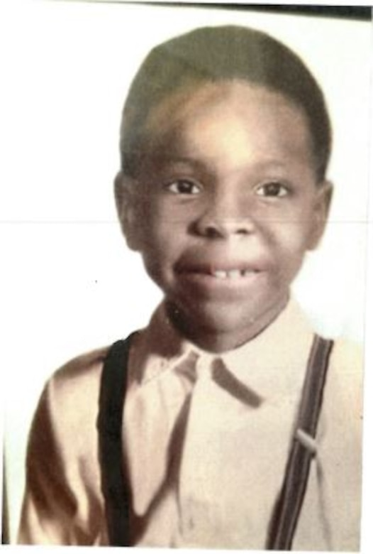 IN THE PHOTO, Dredge Hurley Ship Keeper Curtis Williams when he was six years old. Williams is celebrating a little over 30 years of service with the Memphis District U.S. Army Corps of Engineers.