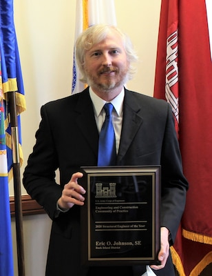 Eric Johnson - USACE Structural Engineer of the Year