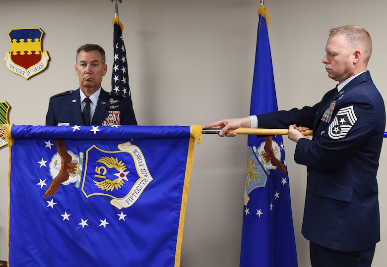 15th Air Force activation