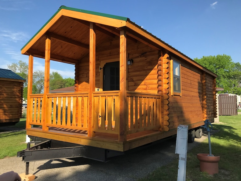 FamCamp now offers three bunkhouses within the campground. Bunkhouses are available to rent and offer two twin bunk bunks and one queen bed in a private room. Other amenities include full size refrigerator, stove top, and microwave. Bunk houses offer camp comfort for those opting out of sleeping in a tent and don't have their own RV/Camper to travel with. (Courtesy photo)