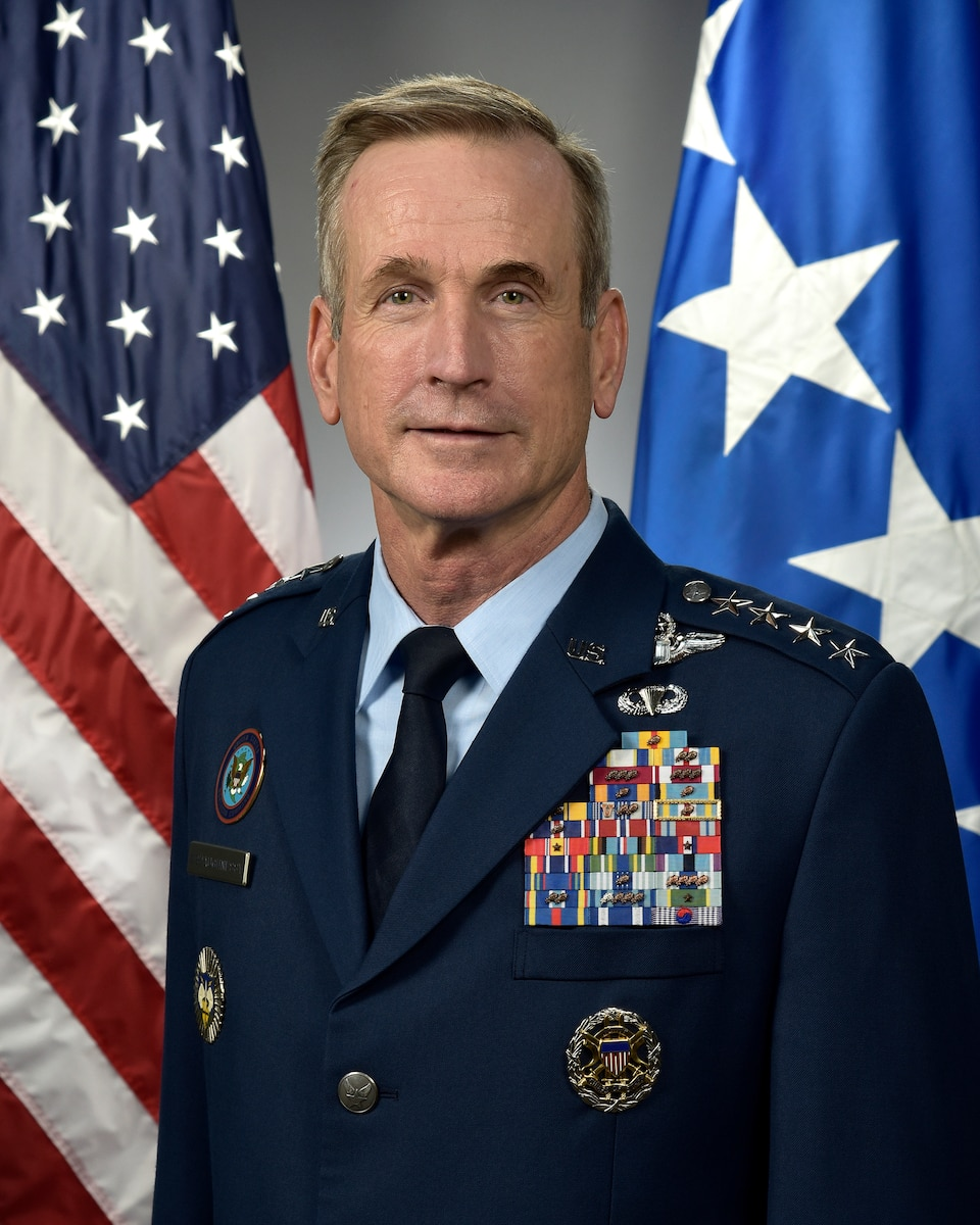 This is the official portrait of Gen. Terrence J. O'Shaughnessy.
