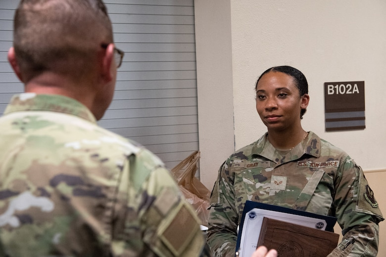 2nd SFS Airman awarded Kaleth O. Wright Excellence in Leadership Scholarship