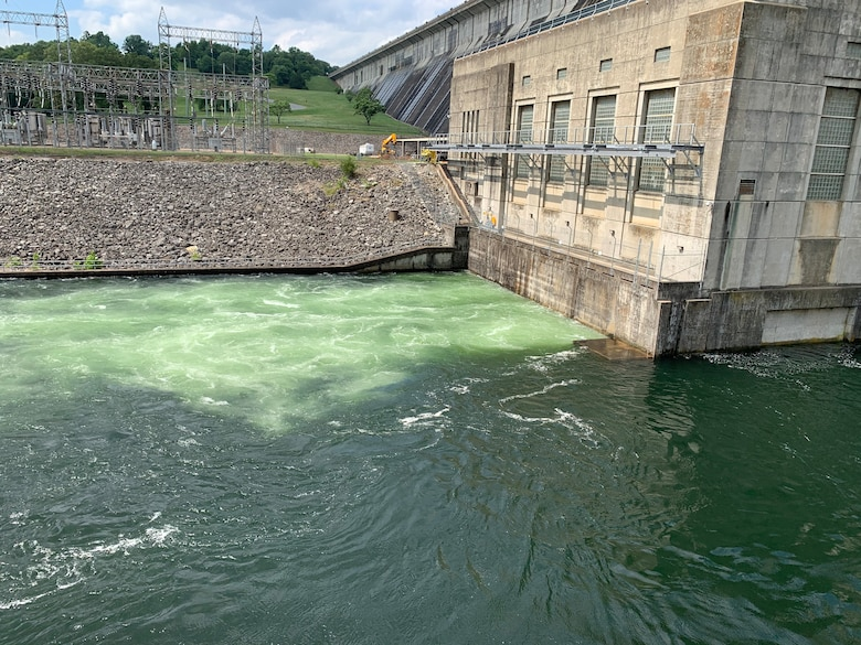 hydropower generation at Norfork Dam in the White River Basin