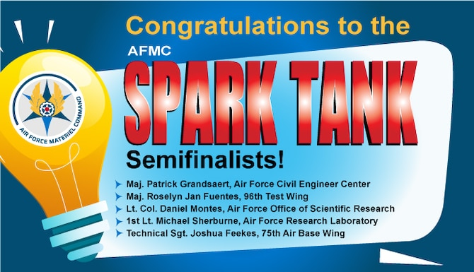 spark tank semifinalists graphic