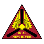 The official command seal for Marine Corps Air Station New River.