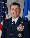Bio photo of the U.S. Air Force Warfare Center vice commander.
