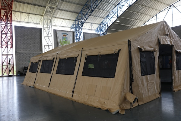 U.S. Ambassador to Costa Rica Sharon Day delivered three field hospitals, purchased by U.S. Southern Command (SOUTHCOM), to the Costa Rican government during an official donation ceremony.