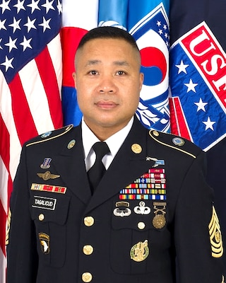 Command Sergeant Major Walter A. Tagalicud