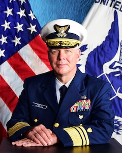 Photo of Rear Admiral Steven D. Poulin